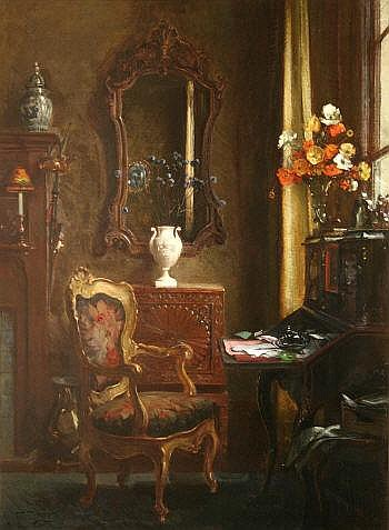Albert Chevallier Taylor (1862-1925) RA THE