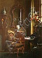 Albert Chevallier Taylor (1862-1925) RA THE, Albert Chevallier Tayler, Click for value