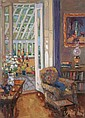 Liam Treacy 1934-2004  - INTERIOR WITH CONSERVATORY
