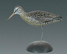 Miniature Marbled Godwit by A. E. Crowell