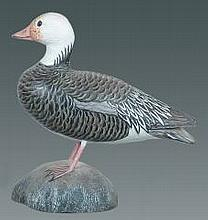 Miniature Blue Goose by Jess Blackstone #7