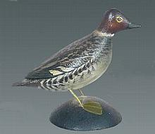 Miniature Goldeneye Drake by Crowell