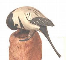 Life Size Chickadee Wall Mount by Russ Burr