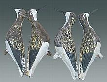 Lot of 2 Tin Decoys- Repainted Yellowlegs.