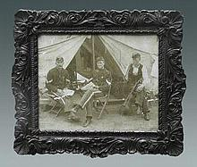 Picture Three Soldiers From the Civil War Era 721.