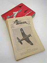 Books : Magazine : A collection of c1946/7 magazines 'The Aeroplane' (29) + 4 volumes of The Aeroplane Pictorial Review c1957/8 compiled by the staff of The Aeroplane and Astronautics, Temple Press Limited (33)