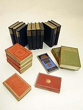 Books: A box of 22 travel books. To include 10 volumes of Highways and Byways ; Surrey by E. Parker, Somerset by E. Hutton, Berkshire by J.E Vincent, Gloucestershire by E. Hutton, Essex by E.V Lucas, Shakespears Country by W.H. Hutton, Wiltshire by