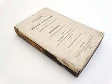 Book :  Priscilla Wakfiels Excursions in the North America 3rd Edn 1819