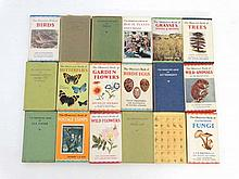 Books: A collection of 18 books from the Observer's Pocket Series. Published by Frederick Warne and Co ltd. To include the observers books of Birds, Ferns, Trees, Grasses, House Plants, Larger British Moths, Garden Flowers, Astronomy, Wild Animals,