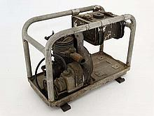 Militaria : A rare WWII Japanese Army portable petrol generator in aluminium frame . Thought to have been designed for dispatch via air-drop . 13