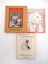 Books : Ernest Aris A Tale of a Bold Bad Mouse published by S W Partridge & Co 1933, together with with Beatrix Potter The Tale of Two Bad Mice published by F Warne & Co. Ltd c1930s / 40s and Susan Shaw From Mouse to Mouse (3)