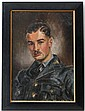 Peter Owen 1943 Oil on canvas R A F Portrait of a