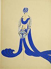 Erté (1892 - 1990) (Romain de Tirtoff) Russian, Gouache on paper, Theatrical costume desig