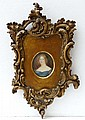 XIX Miniature on ivory An oval ' Mary, wife of