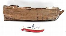 Scale Shipping : a clinker built scale model of an