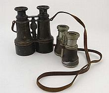 WWI : A pair of ' Hezzanith ' field glasses by
