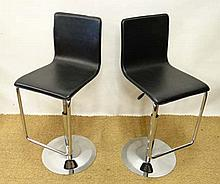 Vintage Retro : a pair of Tall Breakfast stools