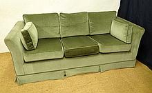 Wesley - Barrell : A Contemporary 3-seat sofa with