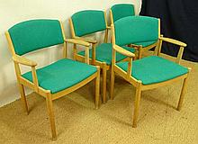 Vintage Retro :a set of 4 Danish Paul Volther