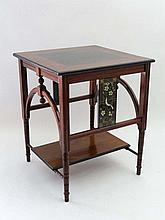 19 th C Aesthetic Movement / Secular Table :