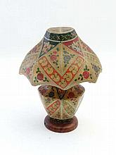 Lamp : An unusual early - mid 20thC Kashmir lamp