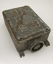 WWII : An electrical junction box recovered from