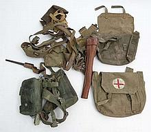 WWII : A collection of British Army issue khaki