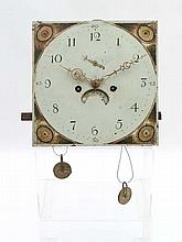 Longcase clock movement : An early 19thC 8 day