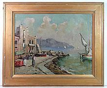 XX North Italian School Oil on canvas North