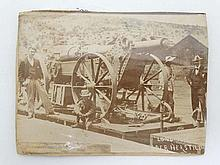 Boer War Military Photograph : an original sepia