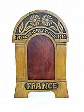 WW1 memorial photograph frame, 'The Great War