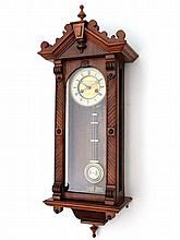 Gustav Becker Vienna : An 8-day walnut cased