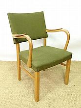 Vintage Retro : a Danish open arm single chair