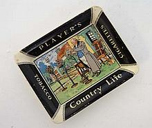 Advertising : A Players Tobacco Country Life