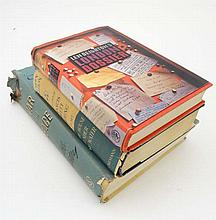 Books : Three hardcover books with dust jackets to