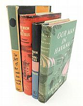 Books : Four hardcover books with with good