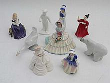Royal Doulton figurines comprising Lucy ( HN2863