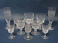 Assorted 19thC and 20thC crystal and cut glass to