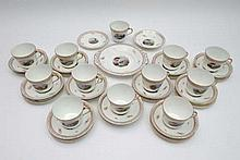 Tea set :A twelve place breakfast tea service ,