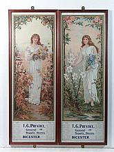 Local Advertising : A pair of 1905 calendars with