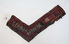 Ethnographic Indian Native Tribal cloth L shaped