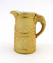 A late 19thC Royal Worcester miniature jug, the