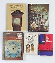 Books : Five books on watches and timepieces to