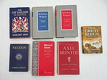 Books : Seven hardcover history / politics books