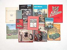 Books / Automobilia : A quantity of car books to