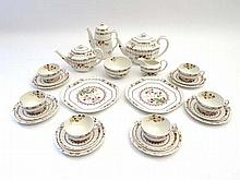 Spode Cowslip tea service : A six place set