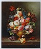 Thomas Webster XX Oil on panel Still life of