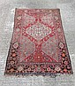 Rug / Carpet : an early 20thC Persian rug with