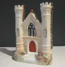 Staffordshire Church-Style Vase
