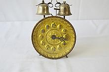 Early Press Metal Windup Alarm Clock